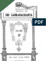 WorksOfSriSankaracharya17 Stotras1 Text