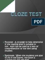 Cloze Test Shai