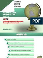 PPBJ-Modul 03 Pengatar Pengadaan Barang dan Jasa Pemerintah