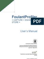 FoulantProfiler User Manual