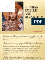 10 - Serbian empire and Byzantium