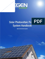 -Solar Photovoltaic Power System Handbook