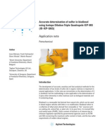 Accurate Determination of Sulfur in Biodiesel Using Isotope Dilution Triple Quadrupole ICP MS