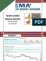 Ncdex Weakly Report 6 Jul