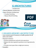 SWITCHING ARCHITECTURES