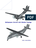 Multipurpose aircraft with modular fuselage.pdf