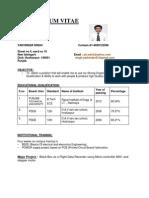 Yadvinder Updated Resume