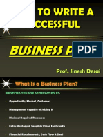 Business Plan guidline