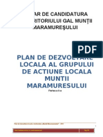 Plan de dezvoltare locala GAL Muntii Maramuresului  - vol 2