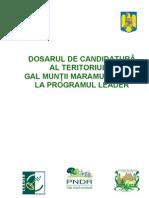 Plan de dezvoltare locala GAL Muntii Maramuresului  - vol 1