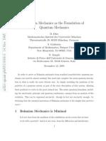 Dürr-Goldstein-Zanghiı - Bohmian Mechanics as the Foundation of Quantum Mechanics