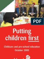 ednPutting Children First