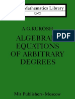 Algebraic Equations of Arbitrary Degrees LML
