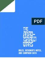 Arab Israeli Wars Rules