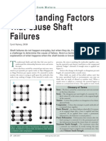 Machinery Shaft Failure&Analysis