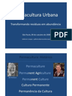 Permacultura Urbana, Out 2008