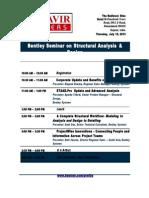 2013 Structural-Seminar-Agenda Ahmedabad Final