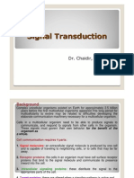 Chaidir - Materi 3 & 4 Signal Transduction