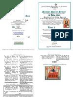 Tone 2 -14 July - 3 AP - 3 Matt - Light of the World - Holy Fathers