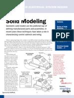 SolidWorks Basics Solid Modeling