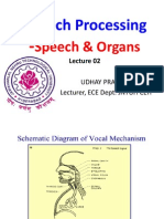 Speech Processing Lecture 02