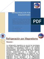 Refrigeracion Por Magnetismo--mijahuanga Berru