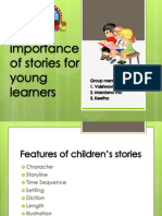 The Importance of Stories for Young Learners