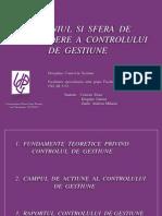 PROIECT - Control de Gestiune