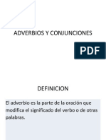 Adverbios y Conjunciones