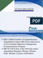 MICAT Examination