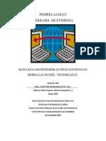 MK Pendidikan Biologi