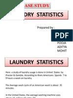 Quatitative Analysis - Case study on Final Laundry Statistics