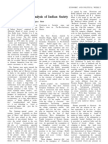 MARX CENTENARYKarl Marx and Analysis of Indian Society