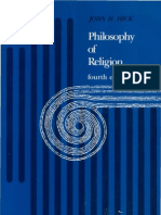 Philosophy of Religion by John Hick