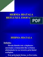 Hernia Hiatala Si Refluxul Esofagian