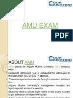 AMU Exam