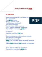 Maher Zain Lyrics