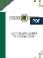 Codigo Electoral 568 Del Estado de Veracruz