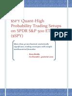 SPY Quant v 0.01