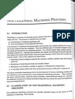 Ntm - non traditional machining