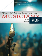 The 100 Most Influential Musicians of All Time[1]