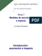 medidas de asociacion e impacto