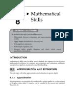 15152908 Topic 8 Mathematical Skills