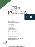 Poesía y Poética, 10 (revista completa)
