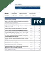 23. Internal Audit Survey Questionnaire