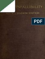 eBook-Roman Catholic Opposition to Papal Infallibility, 1909