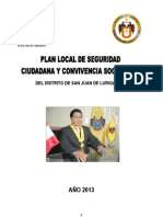 Plan Local de Seguridad Ciudadana 2013 Final