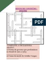 FECHAMENTO DE CONTEÚDO