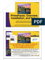 PrimeFaces Overview Setup Installation