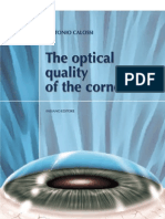 The optical quality of the cornea